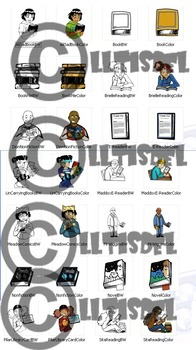 CommUNITY Classroom Middle School Literacy Set: 28 pc. Clip Art!