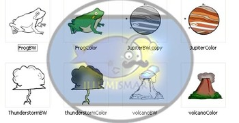 CommUNITY Classroom Middle School Science Set: 36 pc. Clip Art!