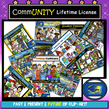 CommUNITY Lifetime License -AMAZING DEAL -People Clip-Art