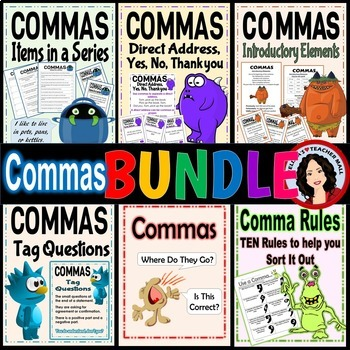 Comma Activity Bundle, New Year Special