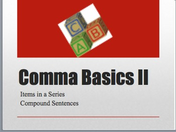 Comma Basics Collection