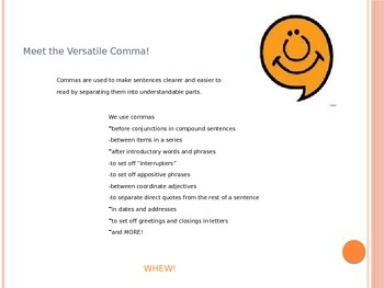 Comma Basics I: Introductory Phrases and Coordinate Adjectives