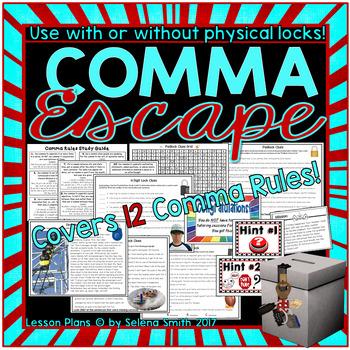 Comma Breakout Box / Escape Room