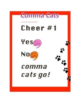 Comma Cats Go!