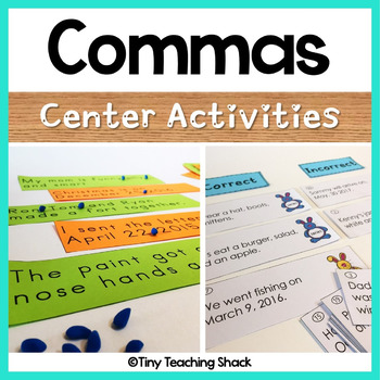Comma Center Activities (dates and series)