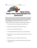 Comma Chameleon - Comma Worksheet