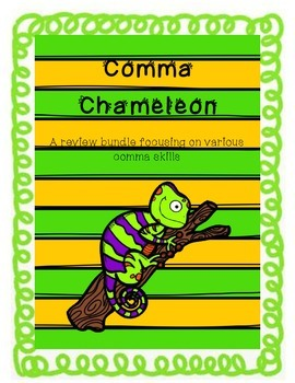 Comma Chameleon - Comma rules card game and assessments