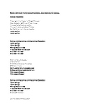 Comma Chameleon Song Parody Lyrics