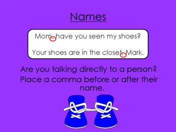 Comma Confusion