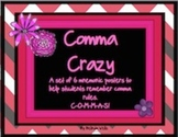 Comma Crazy A Set of Mnemonic Posters C-O-M-M-A-S!