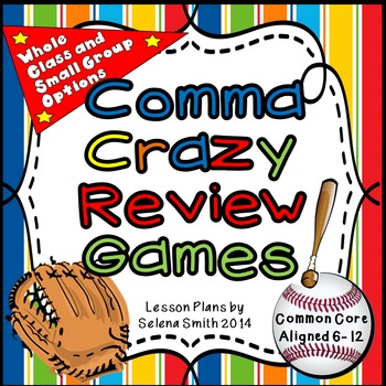 Comma Review Games