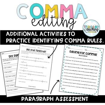 Comma Editing with Task Cards