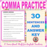 Comma Exercise with Key