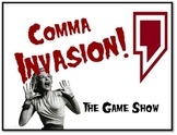 Comma Invasion - Fun Test Prep Review Game