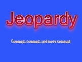 Comma Jeopardy Game