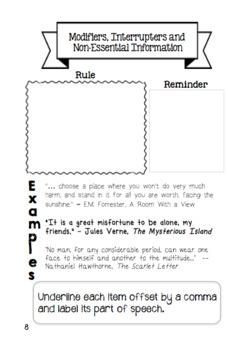 Comma Mini Book