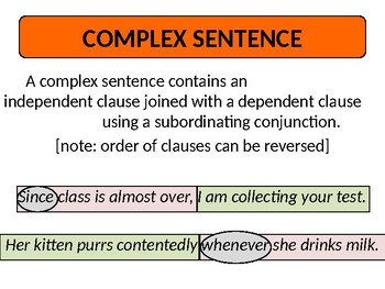 Comma Overview (Extended Lesson on Simple, Compound, Complex Sentences)