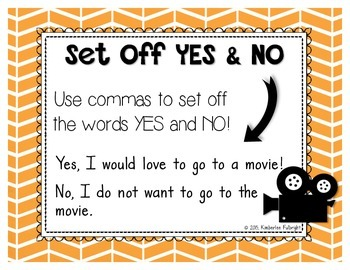 Comma Poster Set
