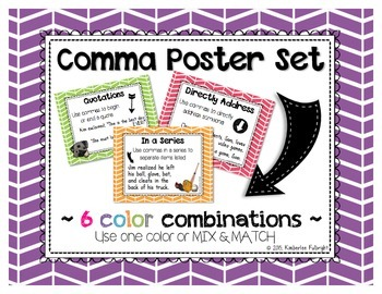 Comma Poster Set