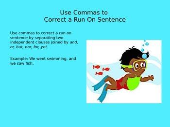 Comma PowerPoint