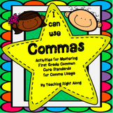 Commas in a Series Worksheets