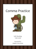 Comma Practice Task Cards
