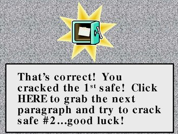 Comma Review: Safecracker #1 (PPT Game)