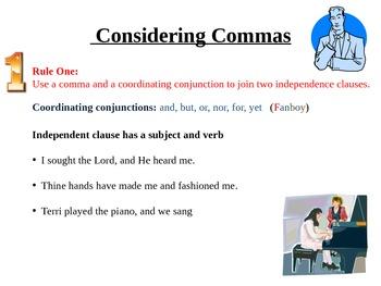 Comma Rule # 1