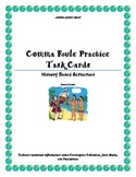 Comma Rule Task Cards