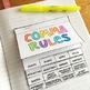 Comma Rules Interactive Notebook Flipbook