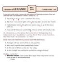 Comma Rules BUNDLE: Ten-Minute Grammar Units 16 and 17