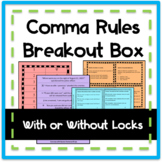 Comma Rules Breakout/Escape Room