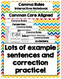 Comma Rules - Interactive Notebook