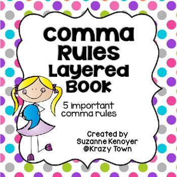 Comma Rules Layered Book