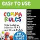 Comma Rules Presentation