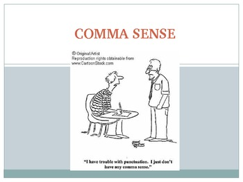 Comma Rules Review