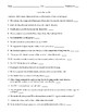 Comma Rules, Review Worksheet #2, and Detailed Answer Key