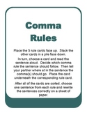 Comma Rules Sort
