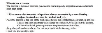 Comma Rules in Writing - Flowers for Algernon Lesson Plan, Activities, Handouts
