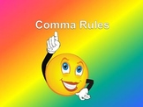 Comma BUNDLE:  10 Simple Rules to Remember Commas Forever!