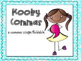 Comma Usage Foldable