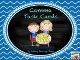 Comma Usage Task Cards or Scoot Game
