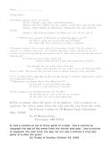 Comma list/handout