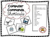 Command Shortcuts for PC's, Google Chrome & Chromebooks