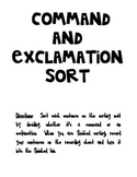 Command and Exclamation Sort