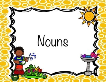 Nouns - Common and Proper PowerPoint