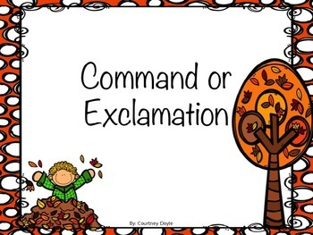 Command and Exclamations PowerPoint Review