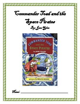 Reading Guide: Commander Toad and the Space Pirates