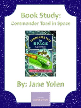 Commander Toad in Space: Book Study