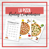 Commandons une pizza ! - Pizza - French Reading Comprehension Task